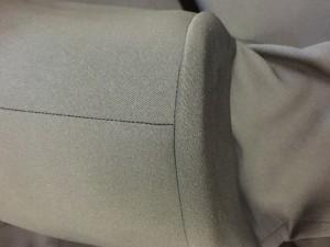 学生服 縫製 プレス